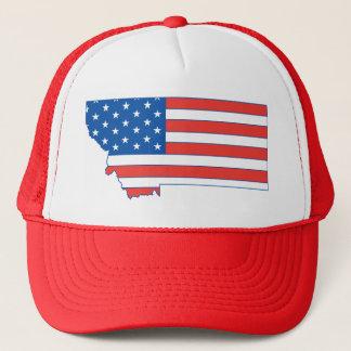 Montana Patriotic Hat