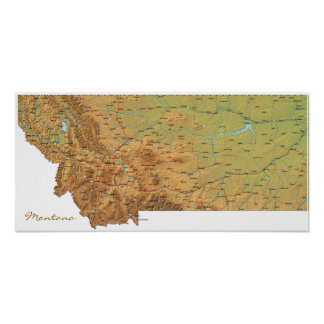 Montana Print
