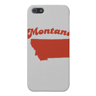 MONTANA Red State Cover For iPhone 5