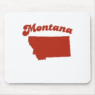 MONTANA Red State Mouse Pad