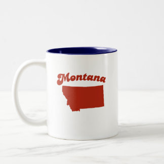 MONTANA Red State Coffee Mugs