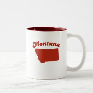 MONTANA Red State Mug
