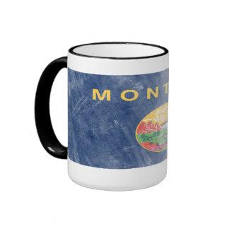 Montana Scratchy Flag Mug