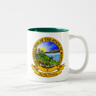 Montana Seal Two-Tone Coffee Mug