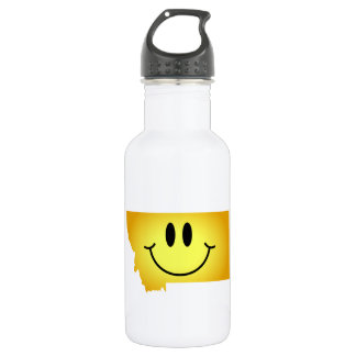 Montana Smiley Face 532 Ml Water Bottle