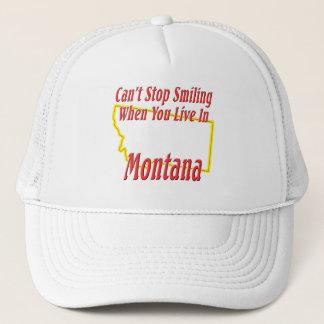 Montana - Smiling Trucker Hat