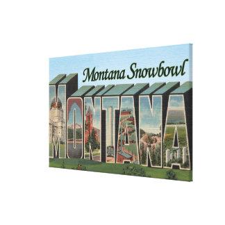 Montana Snowbowl, Montana Canvas Print