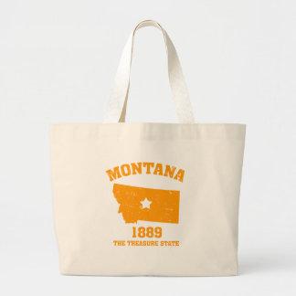 Montana state tote bags
