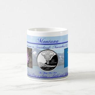 Montana State Commemorative Coffee Mug