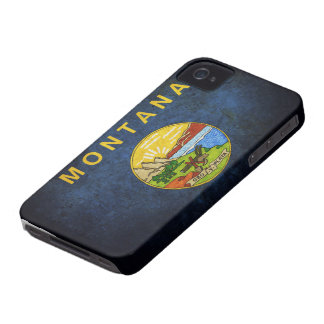 Montana state flag iPhone 4 Case-Mate case