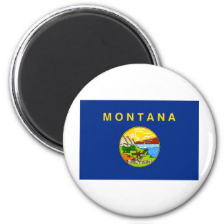Montana State Flag Magnet