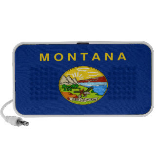 Montana State Flag PC Speakers