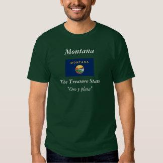 Montana State Flag T Shirt