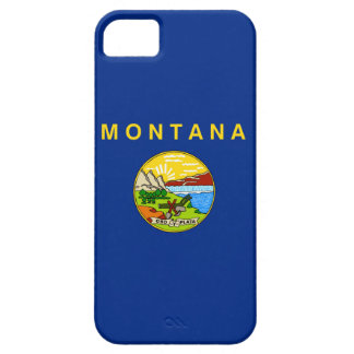 Montana state flag usa united america symbol barely there iPhone 5 case