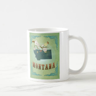 Montana State Map – Green Mugs
