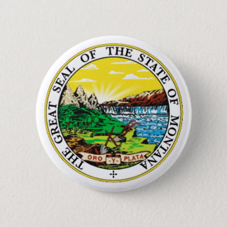 Montana State Seal 6 Cm Round Badge