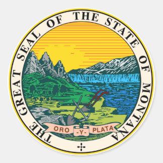 Montana state seal america republic symbol flag