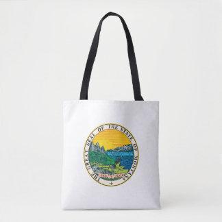 Montana state seal america republic symbol flag tote bag