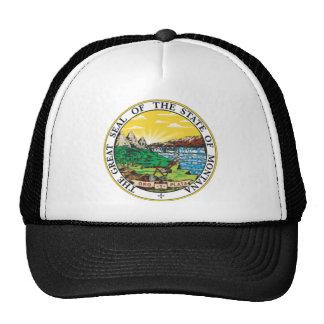 Montana State Seal Cap