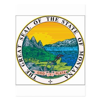 Montana State Seal Postcards