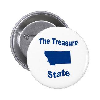 Montana The Treasure State Buttons