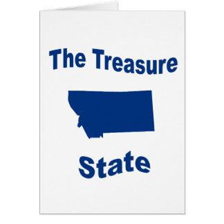 Montana The Treasure State Cards