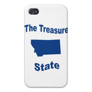 Montana The Treasure State iPhone 4 Case