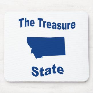 Montana The Treasure State Mousepads
