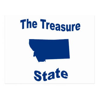 Montana The Treasure State Post Cards
