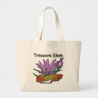 Montana Treasure State Bitterroot Canvas Bags