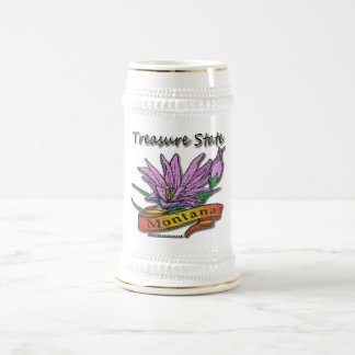 Montana Treasure State Bitterroot Beer Steins