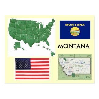 Montana, USA Postcard