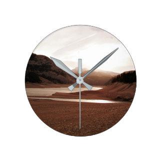 Montana valley Photo Wall Clock