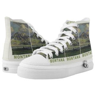Montana Vintage Travel novelty shoes