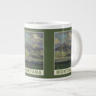 Montana Vintage Travel Poster mugs