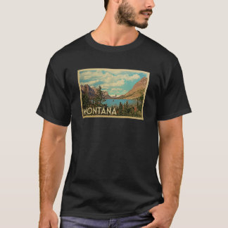 Montana Vintage Travel T-shirt