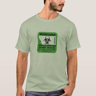 Montana Zombie Permit T-Shirt