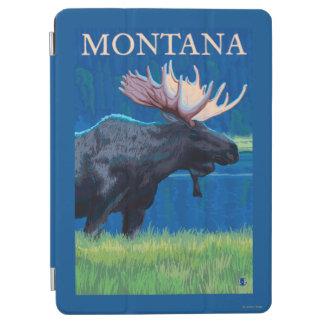 MontanaMoose Vintage Travel Poster iPad Air Cover