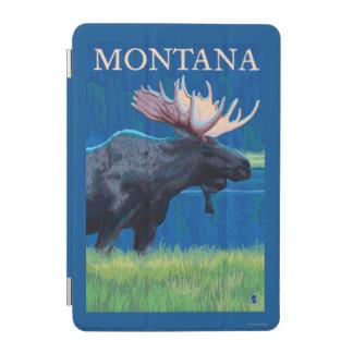 MontanaMoose Vintage Travel Poster iPad Mini Cover