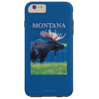 MontanaMoose Vintage Travel Poster Tough iPhone 6 Plus Case