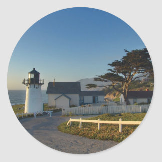 Montara Lighthouse Round Sticker