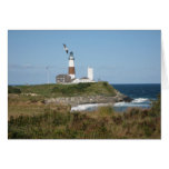 MONTAUK Lighthouse Seagull Love Greeting Cards