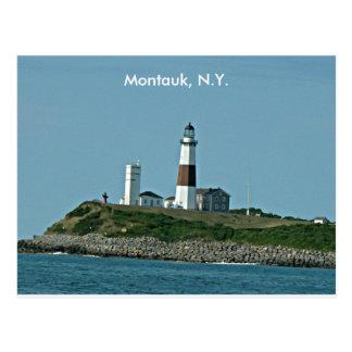 Montauk NY Postcard