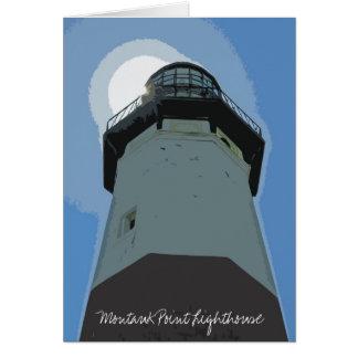 Montauk Point Lighthouse Card