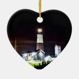 Montauk Point Lighthouse Christmas Ornament