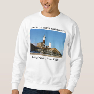Montauk Point Lighthouse, Long Island New York Sweatshirt