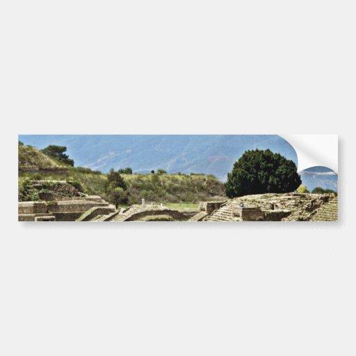 Monte Alban Complex Bumper Stickers