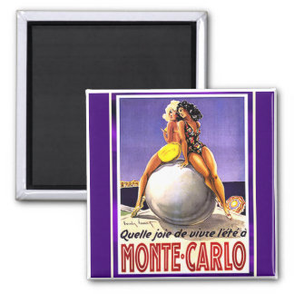 Monte Carlo Bathing Beauties Magnet