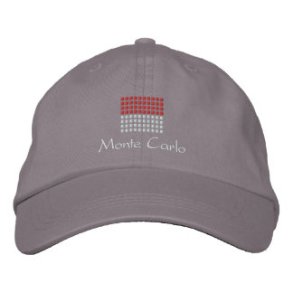 Monte Carlo Cap - Monco Flag Hat Embroidered Hats
