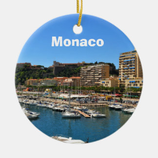 Monte Carlo in Monaco Christmas Ornament